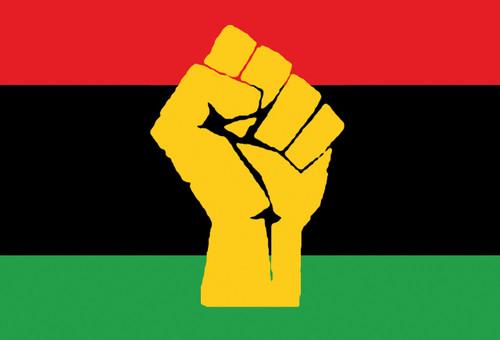 Pan-African Flag Postcard.