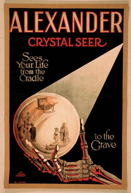 Alexander Crystal Seer Postcard.
