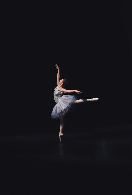 Ballerina Postcard.