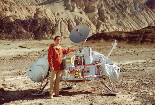 Carl Sagan Viking Postcard.
