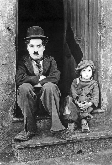 Chaplin the Kid Postcard.