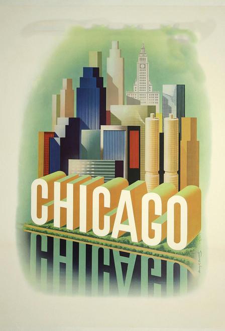 Chicago Postcard.