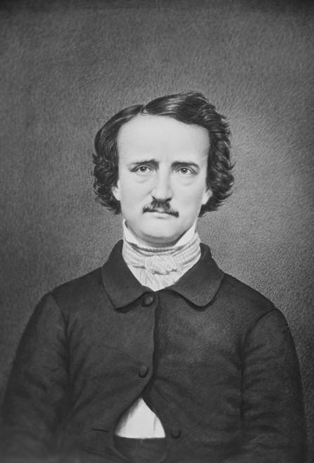 Edgar Allen Poe Postcard.