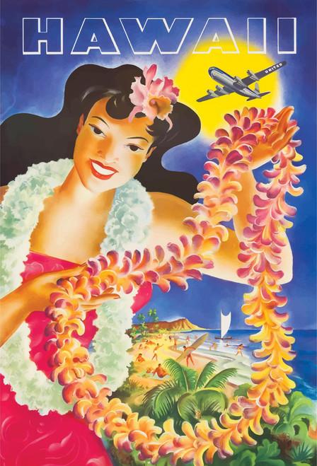 Hawaii Postcard.