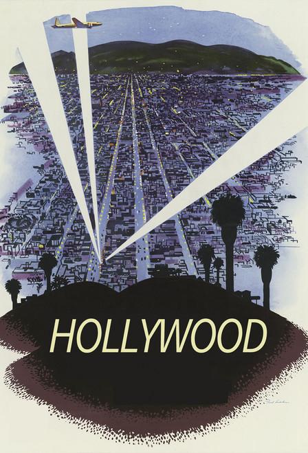 Hollywood Postcard.