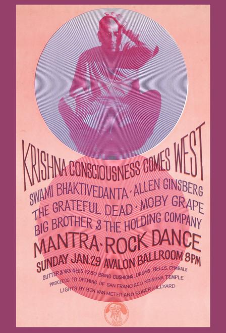 Krishna Consciousness Postcard.