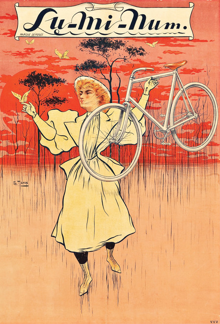 Lu Mi Num 1890 Postcard.