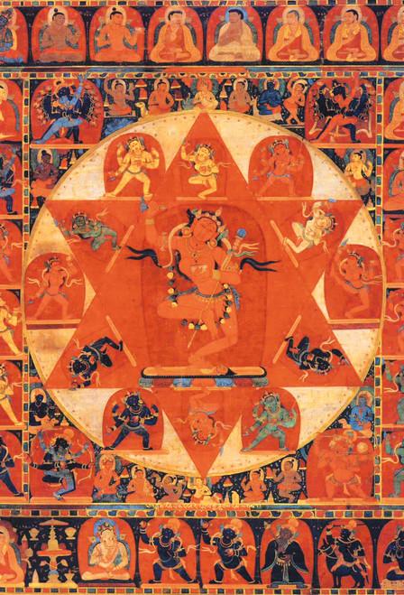 Mandala of Vajravarahi Postcard.