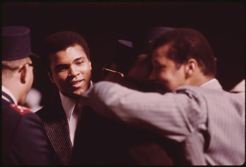 Muhammad Ali Postcard.