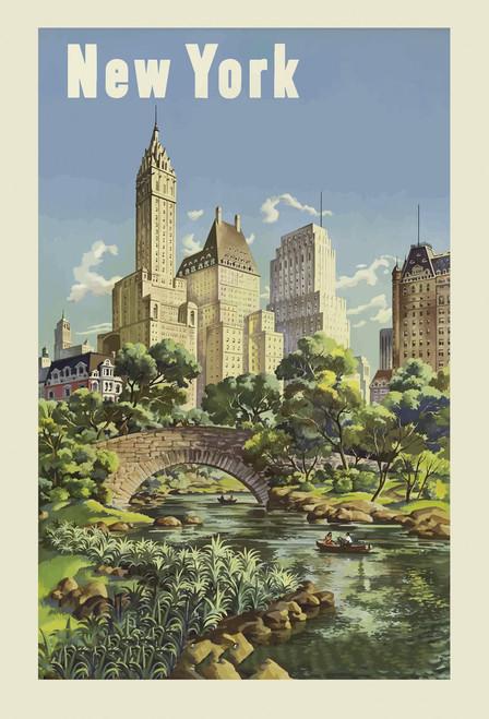New York Central Park Postcard.