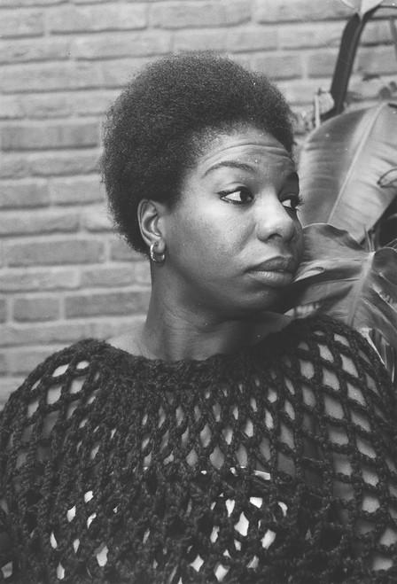 Nina Simone Postcard.