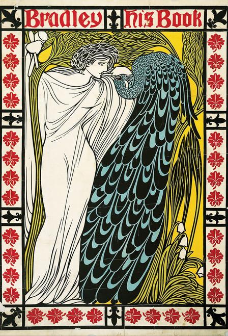 Peacock Woman Postcard.