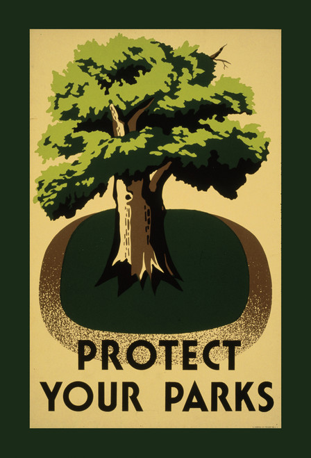 Protect Your Parks Postcard.