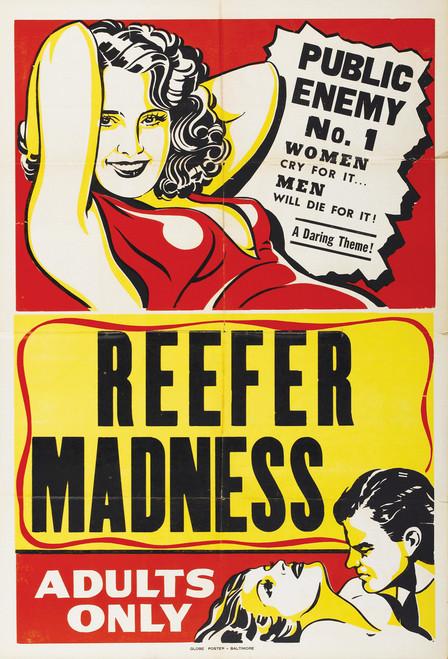 Reefer Madness Postcard.
