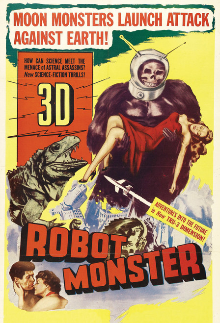 Robot Monster Postcard.