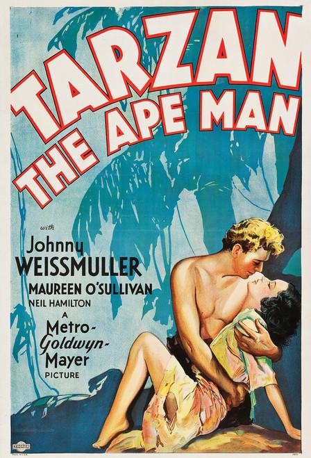 Tarzan Postcard.
