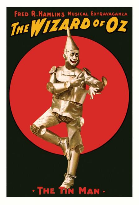 Tin Man Postcard.