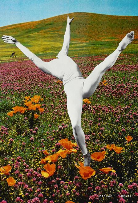 @heavyhymns Dancer Postcard.