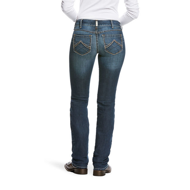ariat low rise boot cut jeans