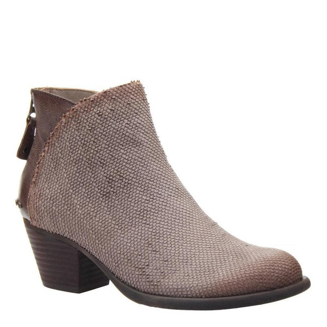 taupe ankle boot