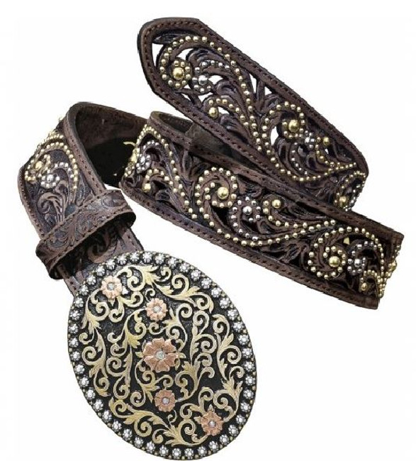 womens bling belts