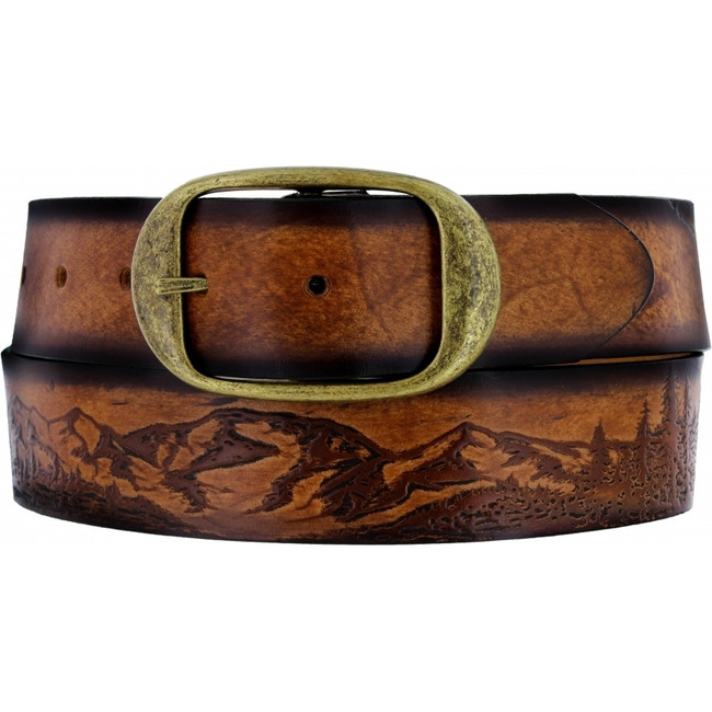 eagle leather belt