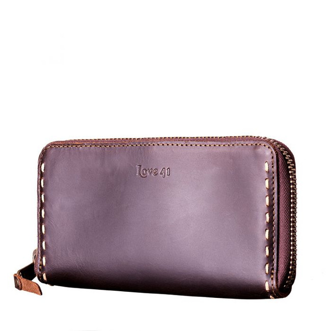 Womens large leather wallets