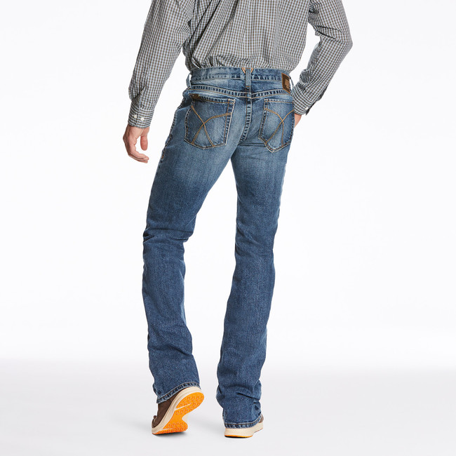 slim fit bootcut jeans