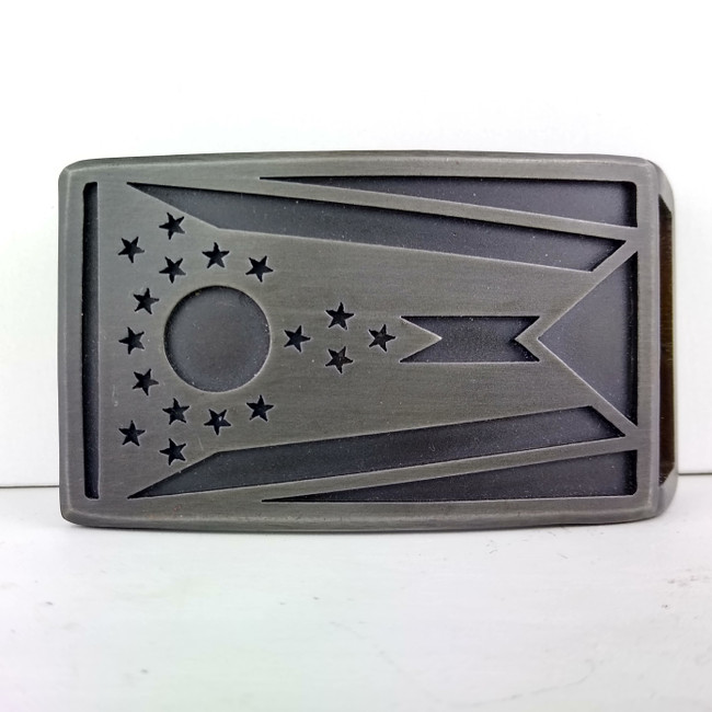 Ohio Buckle Gunmetal