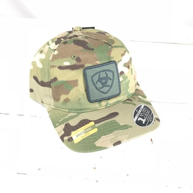 camo ariat hat