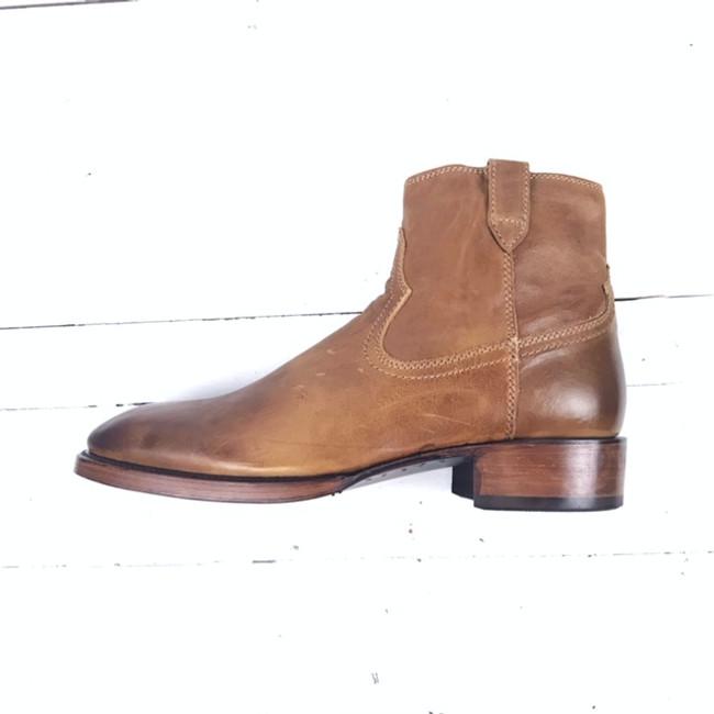 mens side zip dress boots