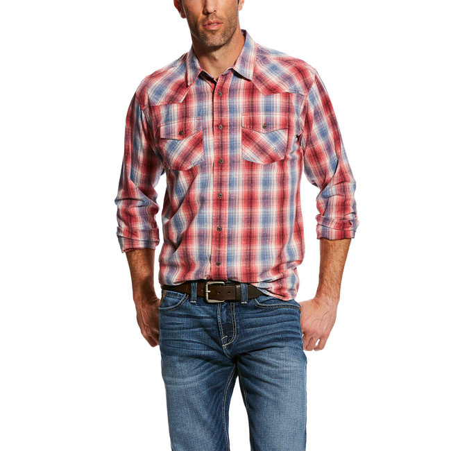 ariat retrofit shirt