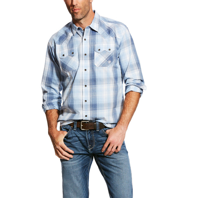 mens ariat retro fit shirt