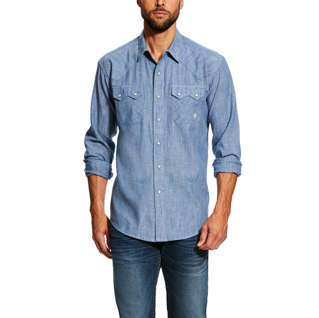 mens ariat retro shirt