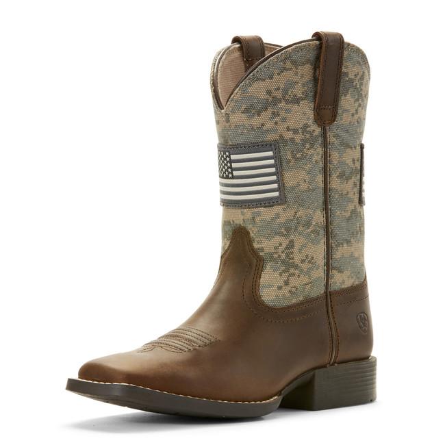 kids camo boots