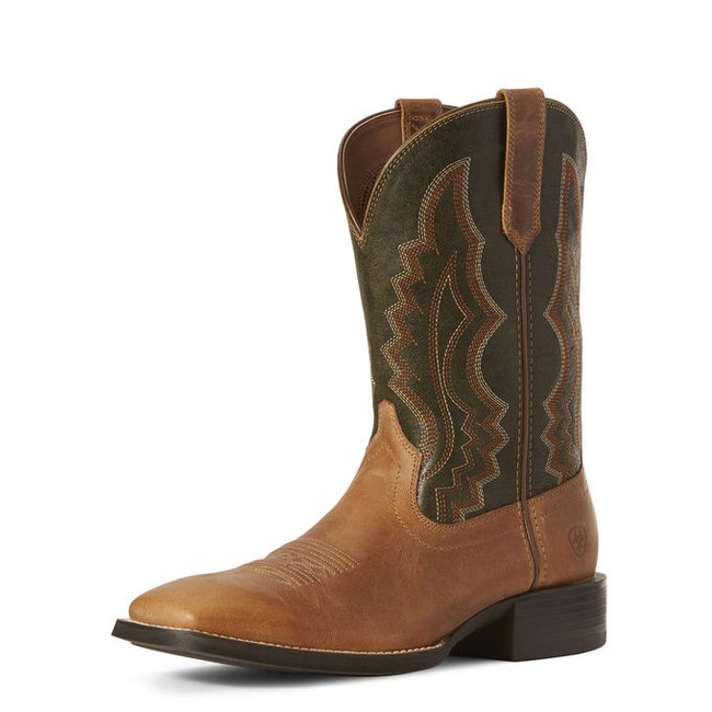 mens ariat western square toe boots