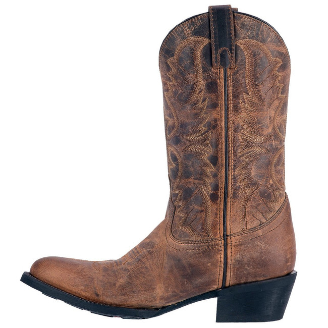 brown laredo boots