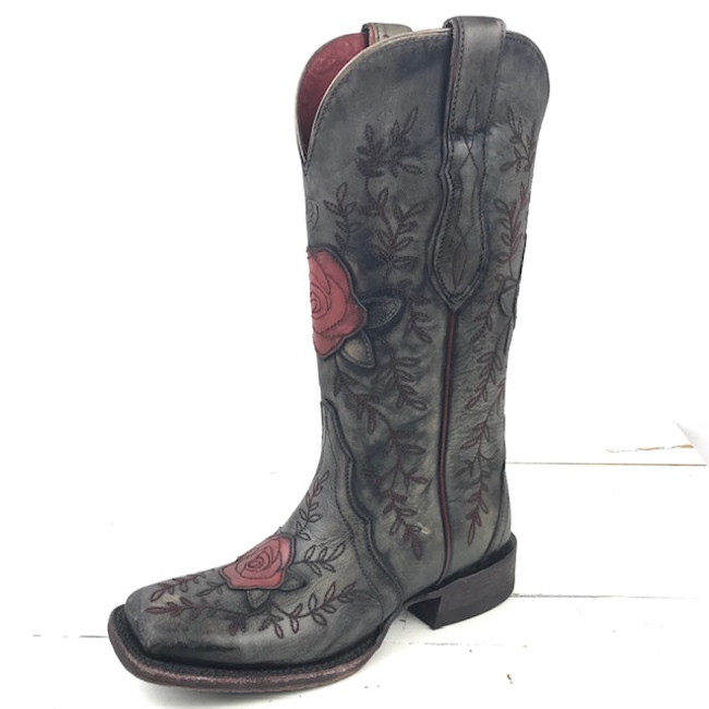 rose cowgirl boots