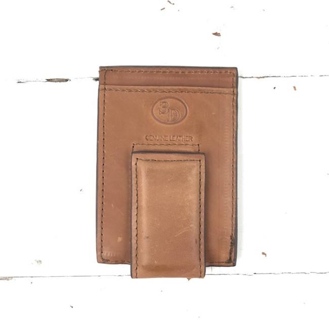 brown money clip
