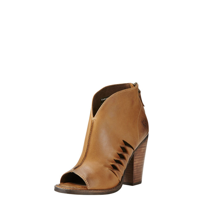 Tan Bootie by Ariat