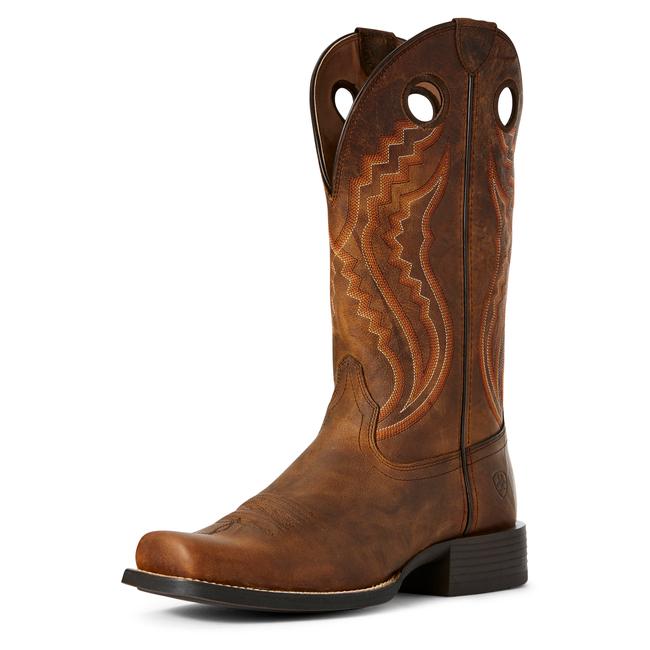 brown cowboy boot