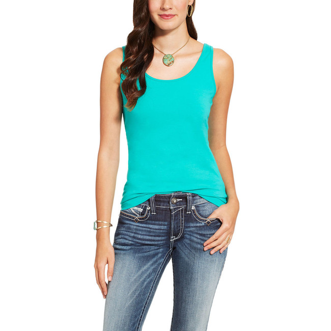 Turquoise Tank Top by Ariat