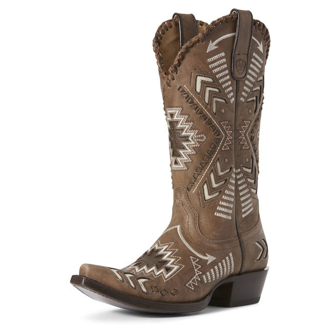 womens gray cowboy boots