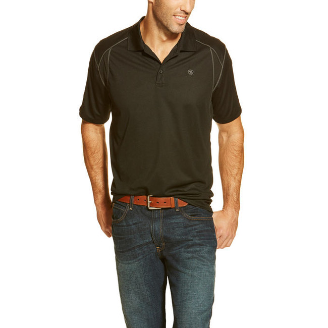 mens black polo shirts