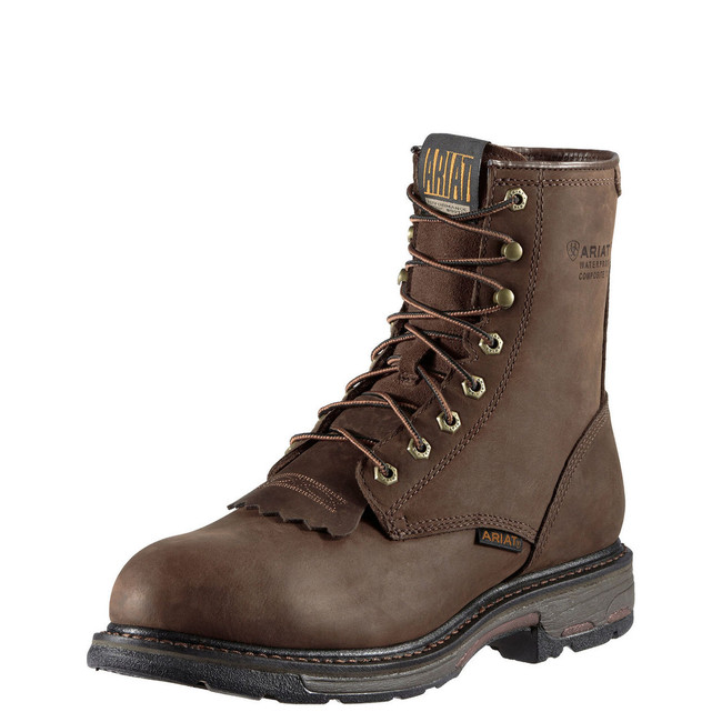 """8"""" Lace Up Work Boot by Ariat"""