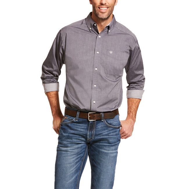 ariat wrinkle free shirt