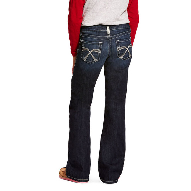ariat boot cut jeans for girls