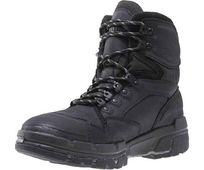 """Black 6"""" Lace Up Work Boot by Wolverine"""
