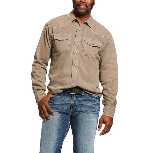mens snap front shirts