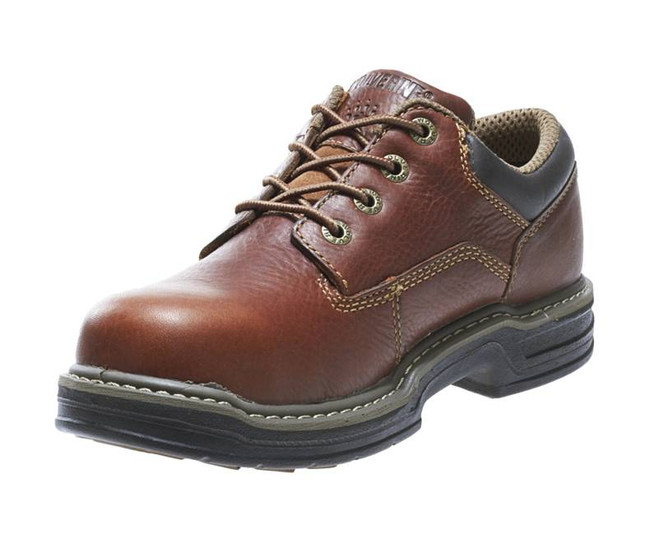 Brown Work Shoe by Wolverine